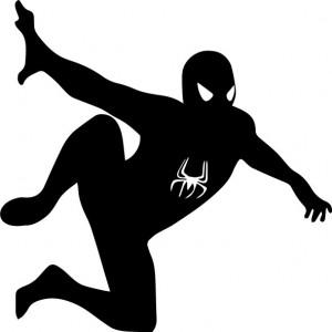 Sticker laptop - Spiderman