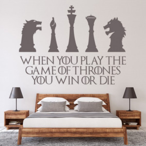 Sticker Win Or Die Quote Game Of Thrones