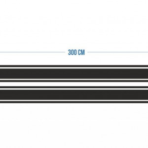 Stickere Dungi Tip Strips Doua De 15cm Si 4 De 3cm Latime 3m Lungime