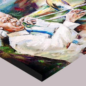 Tablou Canvas Efect Pictura Jazz