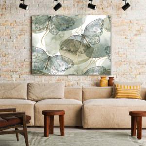 Tablou Canvas Fragile Butterflies