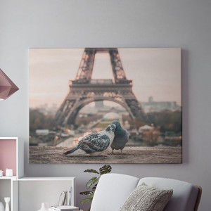 Tablou Canvas Love in Paris