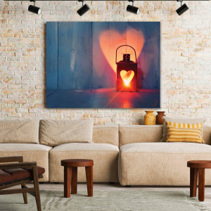 Tablou Canvas Love Will Guide Your Way