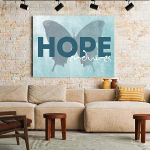 Tablou Motivational - Hope Endures