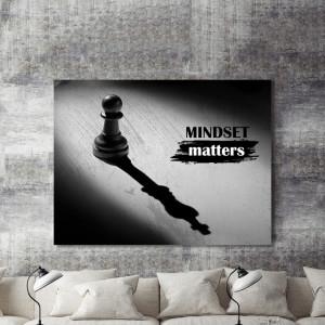 Tablou motivational - Mindset matters