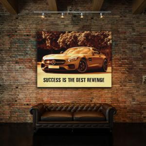 Tablou motivational - Success is the best revenge