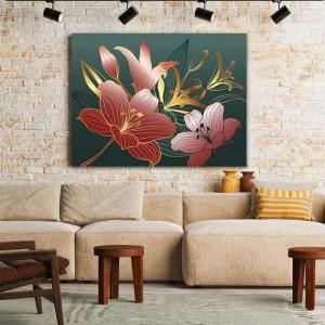 Tablou Royal Pink lilies