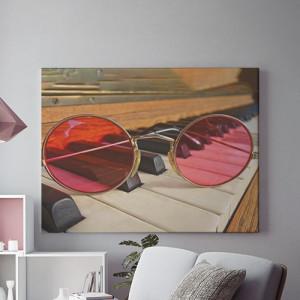 Through pink lenses