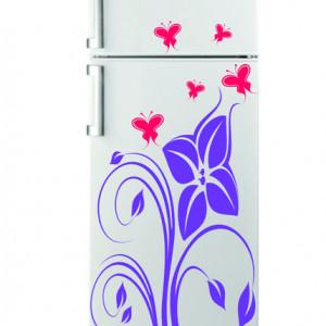 Sticker frigider - floare 12