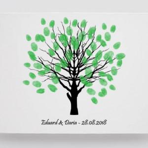 Finger print tree elegant