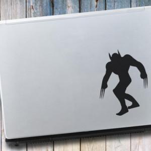 Sticker laptop - Wolverine