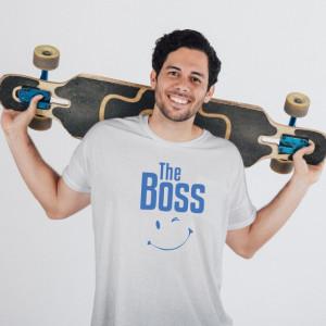 Imprimeu tricou THE BOSS