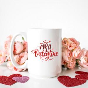 Cana cu Mesaj Mrs Valentine