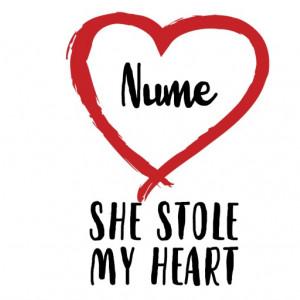 Cana Cu Mesaj She Stole My Heart