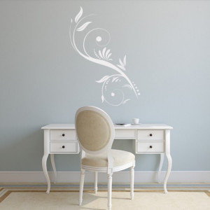 Delicate Swirl Floral