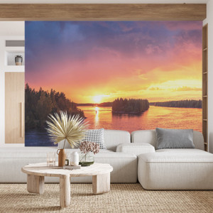 Foto tapet Sunset