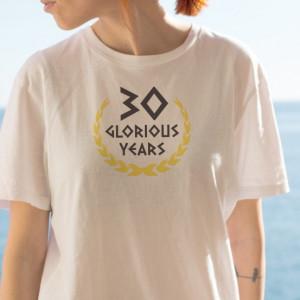 Imprimeu tricou GLORIOUS YEARS