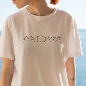 Imprimeu tricou MEOW