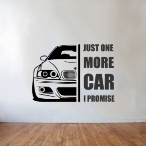Just one more car