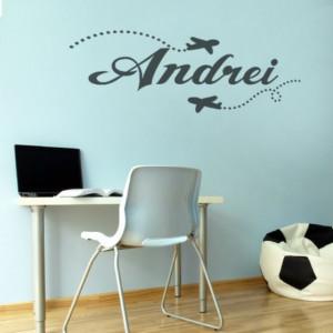 Sticker cu nume - Andrei