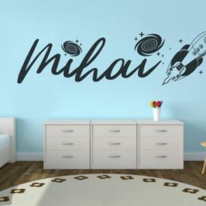 Sticker cu nume - Mihai