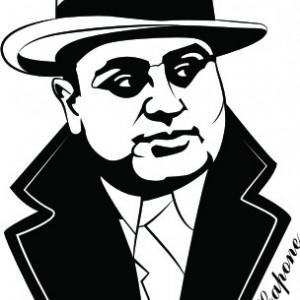 Sticker De Perete Al Capone