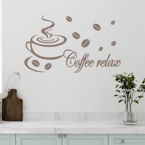 Sticker De Perete Coffee Relax 02