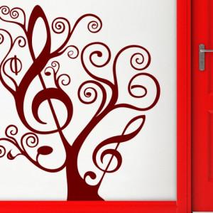 Sticker De Perete Copacul Muzical