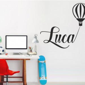 Sticker De Perete Cu Nume - Luca