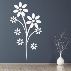 Sticker De Perete Daisy Flowers