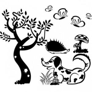 Sticker De Perete Decor Pentru Copii 1