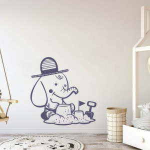 Sticker De Perete Elefantel