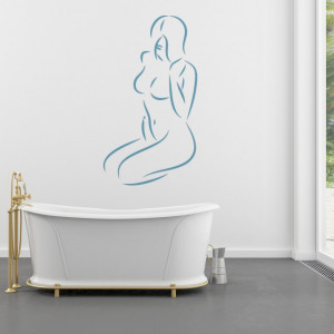 Sticker De Perete Femeie Nud 3