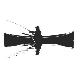 Sticker De Perete Fishing