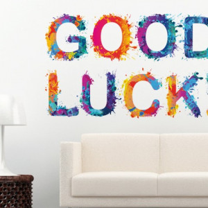 Sticker de Perete Good Luck