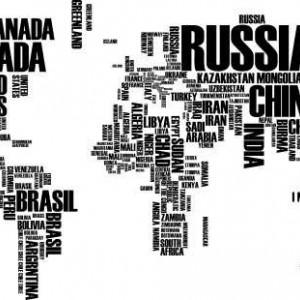 Sticker De Perete Harta Lumii 2
