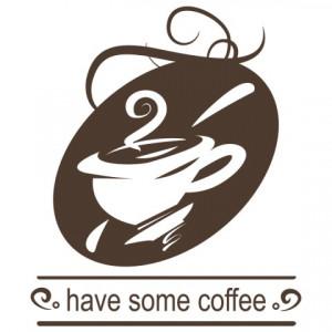 Sticker De Perete Have Some Coffee