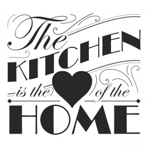 Sticker de Perete Heart Of The Home