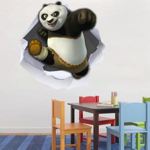 Sticker de Perete Kung-Fu Panda