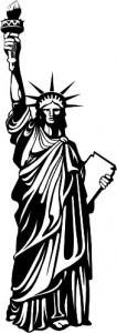 Sticker De Perete Statuia Libertatii