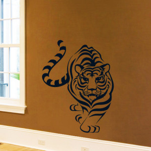 Sticker De Perete Tigru