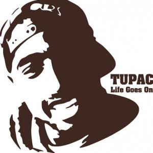 Sticker De Perete Tupac Shakur