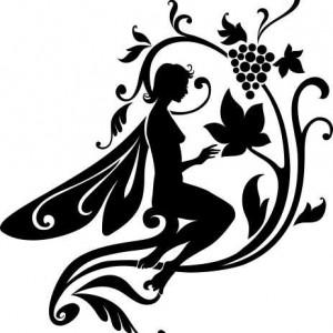 Sticker De Perete Zana Si Strugurii