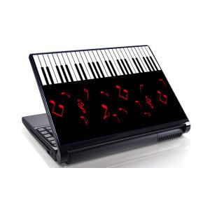 Sticker laptop - clape pian