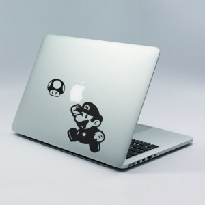 Sticker laptop - Mario