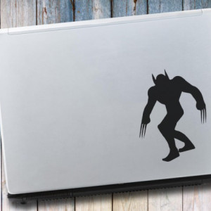 Sticker laptop - Wolverine