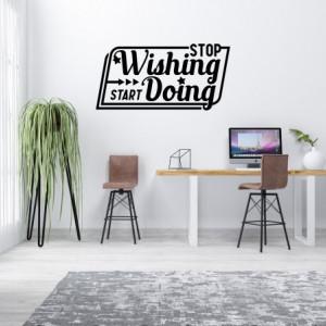Stop wishing start doing - v2