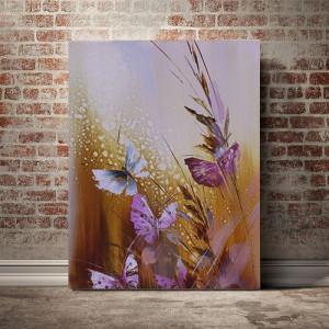 Tablou Canvas Fluturi pictati