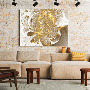 Tablou Canvas Golden inflorescence