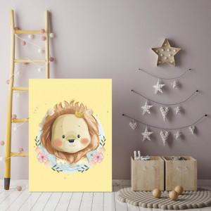 Tablou copii - Lion kid